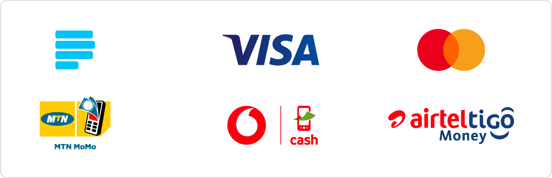 Paystack Payment Options